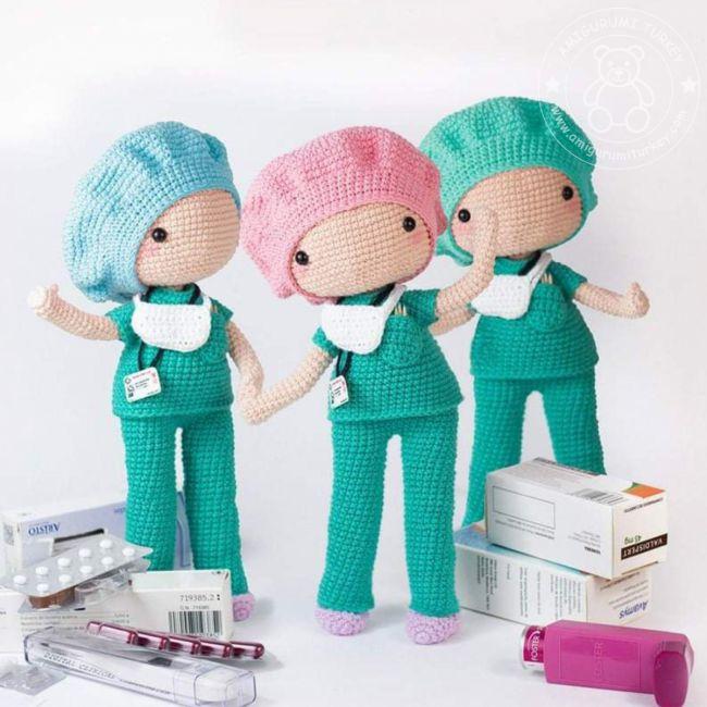 Amigurumi Örgü Emzikli Bebek Modeli Yapılışı ( Anlatımlı ) – Örgü ... | 650x650