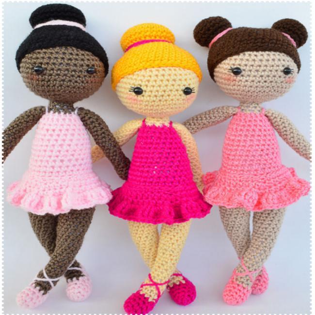 Amigurumi oyuncak bebek yapımı anlatımlı modelleri | 650x650