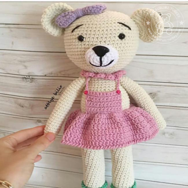 Leithygurumi: Amigurumi Bear Free English Pattern / Amigurumi ... | 650x650