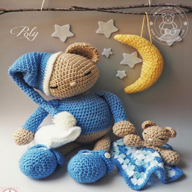 Amigurumi Ayı Teddy-Amigurumi Teddy Bear | Amigurumi, Oyuncak ... | 650x650