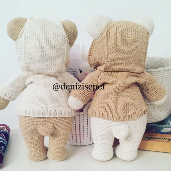 AMİGURUMİ SEVİMLİ AYICIK YAPIMI- Sweet Bear Crochet Pattern - YouTube | 650x650