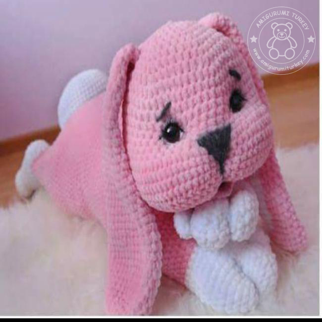 Sevimli Oyuncak Köpek, Amigurumi Kadife İp | 650x650