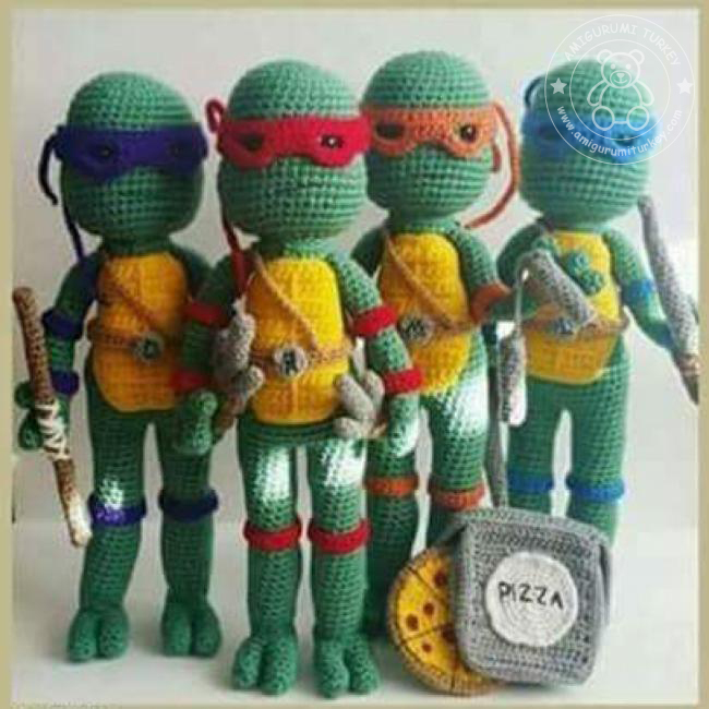 Crochet Lego Ninjago Amigurumi Dolls by efficientsense on Etsy ... | 650x650