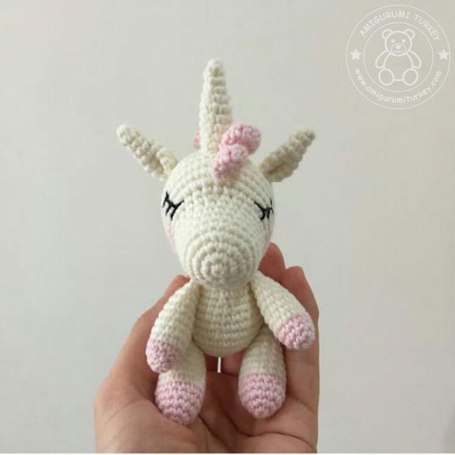 Kendi Kendine Yap | Pelüş Unicorn (Tek Boynuzlu At) Amigurumi Tarifi | 650x650