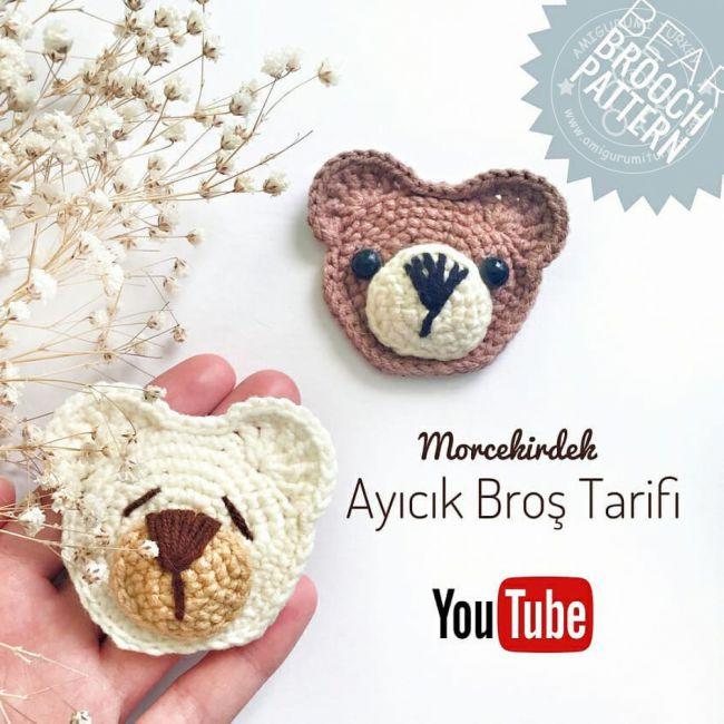 Amigurumi Sevimli Ayıcık Yapımı - YouTube in 2020   650x650