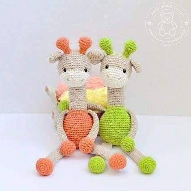 Amigurumi zürafa oyuncak – 10marifet.org | 650x650