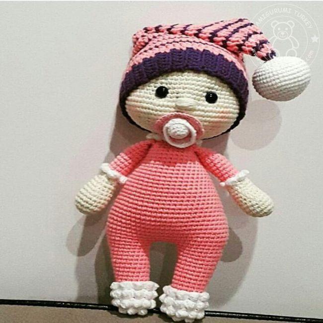 Amigurumi Türkiye-Defne Bebek Tarifi, 2020 | Amigurumi, Maymunlar ... | 650x650