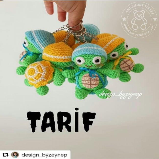 Amigurumi Türkiye-Kız Bebek Anahtarlık Tarifi | 650x650