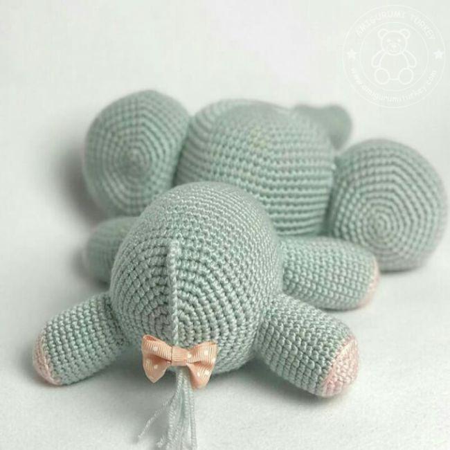 Amigurumi fil yapımı - anlatımlı - 10marifet.org   650x650