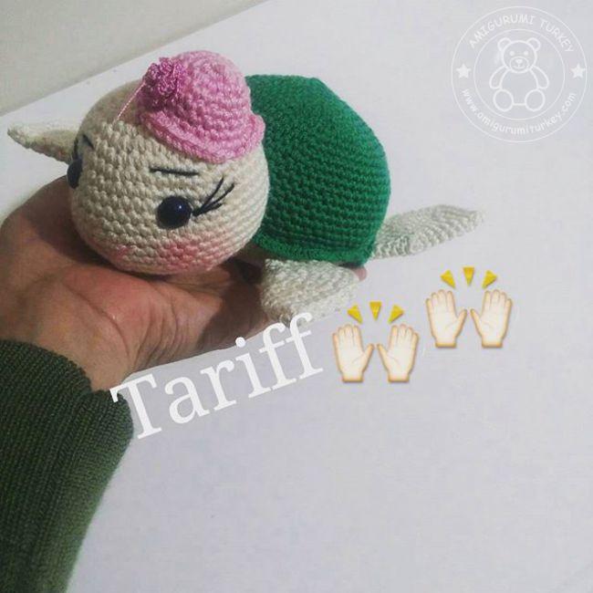 Amigurumi kaplumbağa tarifi - 10marifet.org | 650x650