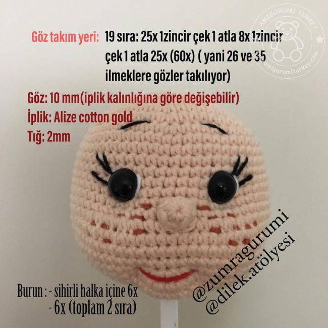 Love girl&boy - açıklamalı amigurumi - 10marifet.org | 650x650