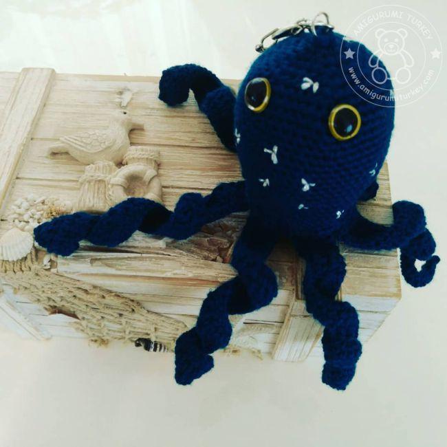 Mor ahtapot - amigurumi oyuncak – 10marifet.org | 650x650