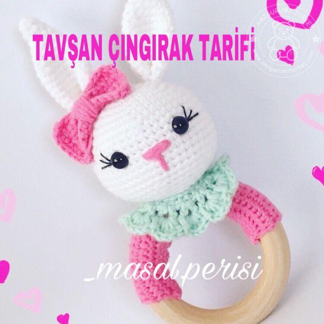 Amigurumi Türkiye-Zürafa Çıngırak Tarifi | 650x650