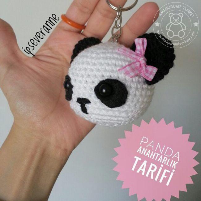 Amigurumi örgü minyatür oyuncak ayıcık yapılışı anlatımlı ... | 650x650