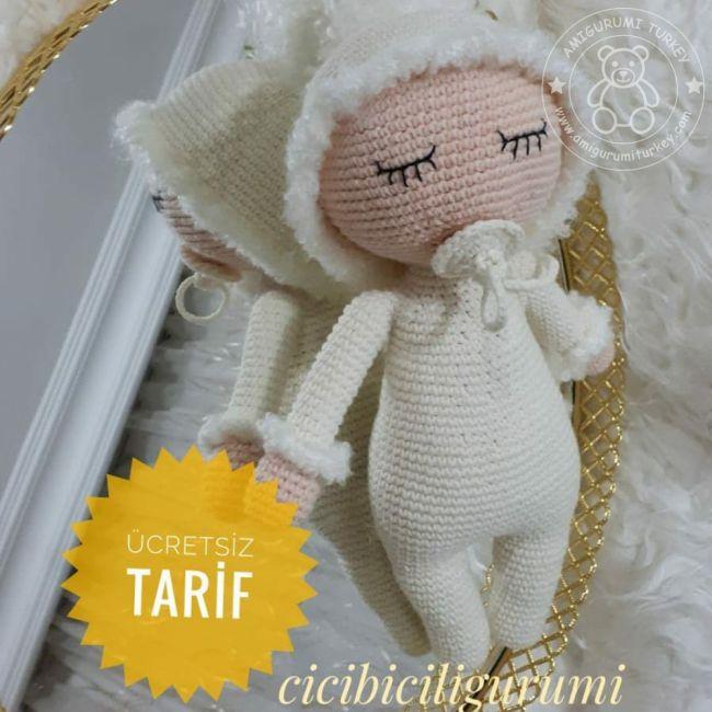 Amigurumi Örgü Emzikli Bebek Modeli Yapılışı ( Anlatımlı ) – Örgü ...   650x650