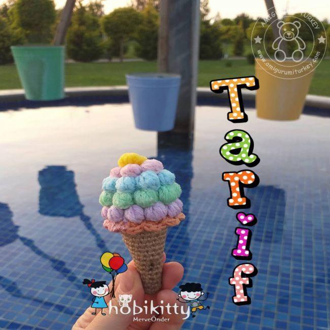 Amigurumi Türkiye-Dondurma Tarifi | 650x650