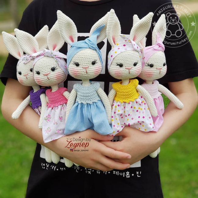 Amigurumi bebek ve rengarenk kıyafetleri – 10marifet.org   650x650