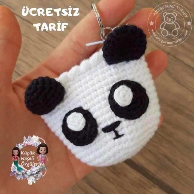 Amigurumi Örgü Panda ve Yapılışı- Yapımı | Amigurumi, Oyuncak ... | 650x650