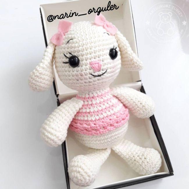 Örgü Oyuncak Menekşe Bebek Tarifi, amigurumi bebek tarifi   650x650