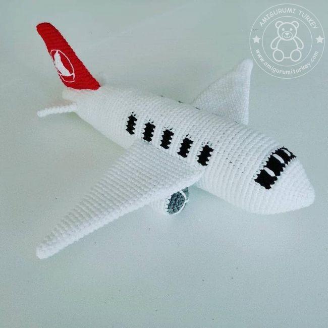 Amigurumi Harika Kanatlar Jet, Çocuklar için harika bir hediye ... | 650x650