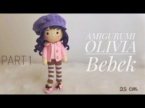 Amigurumi Bebek Yapımı - Oyuncak Bebek Yapımı Videolu Anlatım | 360x480