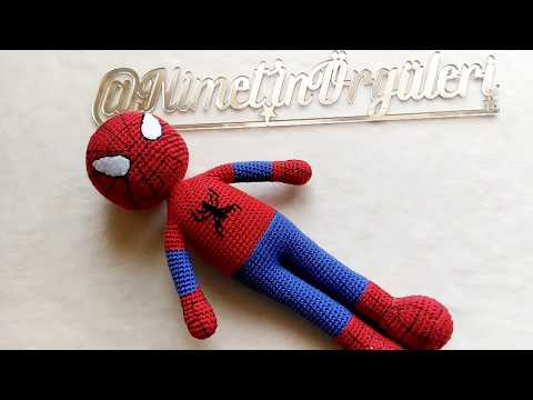 Amigurumi Spiderman / Amigurumi Örümcek Adam | Bonecas de crochê ... | 360x480