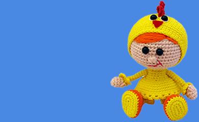 Örgü Oyuncak Menekşe Bebek Tarifi, amigurumi bebek tarifi | 240x390