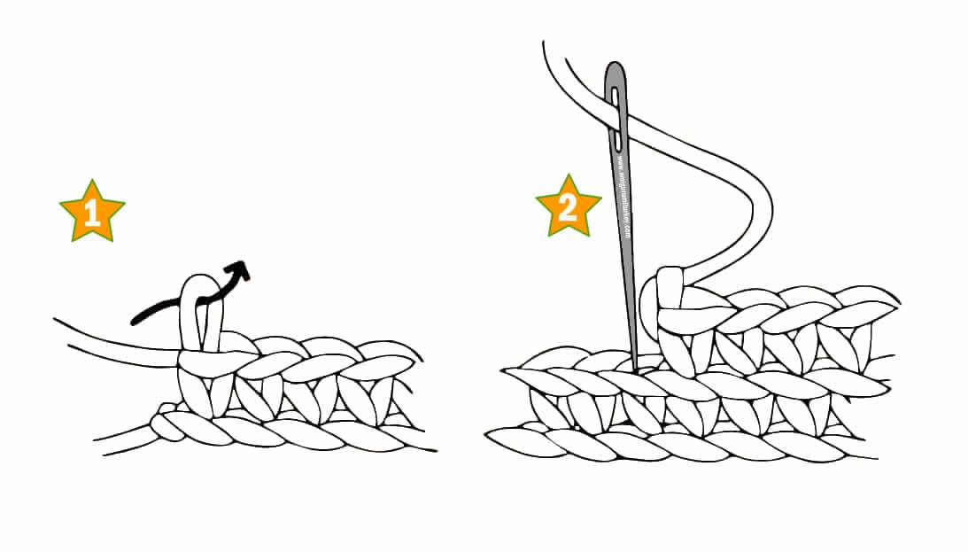 Amigurumi Bitirme Sonlandırma Yapılışı